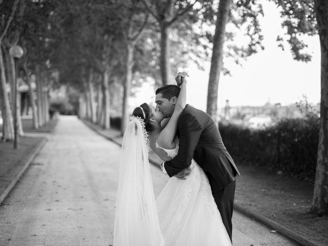 La boda de Luz y David