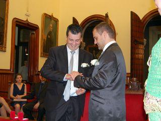 La boda de Alfons y Lluís