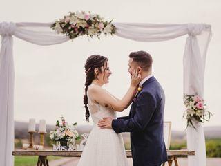 La boda de Violeta y Adrian