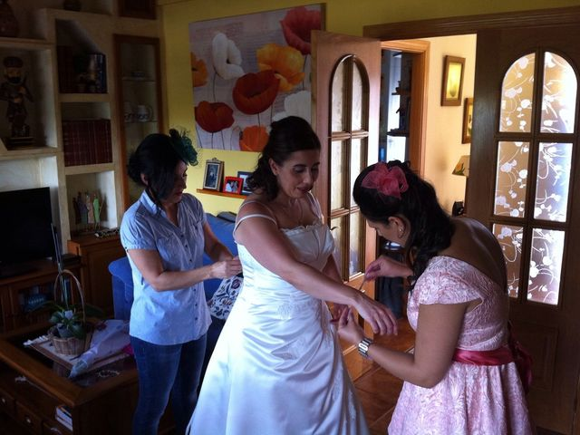La boda de Pablo Gutierrez y Maria Eugenia en Ávila, Ávila 7