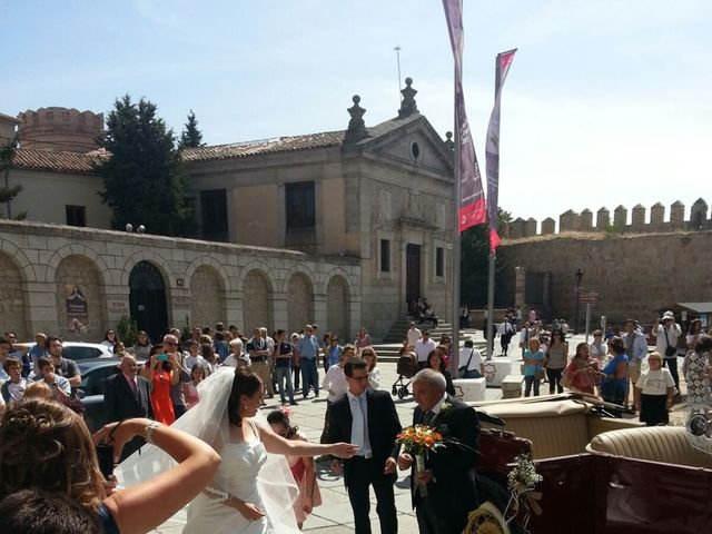 La boda de Pablo Gutierrez y Maria Eugenia en Ávila, Ávila 11