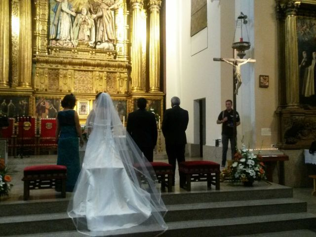 La boda de Pablo Gutierrez y Maria Eugenia en Ávila, Ávila 13