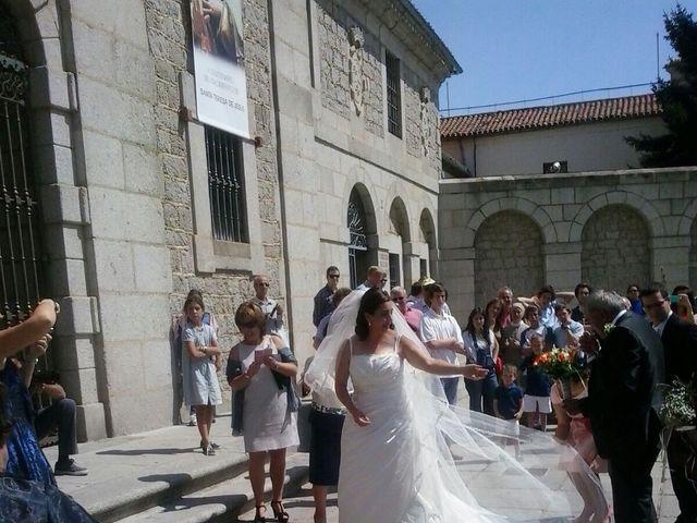 La boda de Pablo Gutierrez y Maria Eugenia en Ávila, Ávila 16