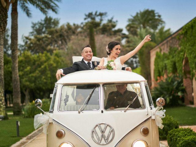 La boda de Sara y Miguel en El Puig, Valencia 1