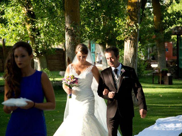 La boda de Héctor y Silvia en Saelices, Cuenca 19