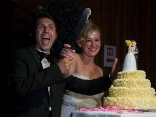 La boda de Clara  y Stefano