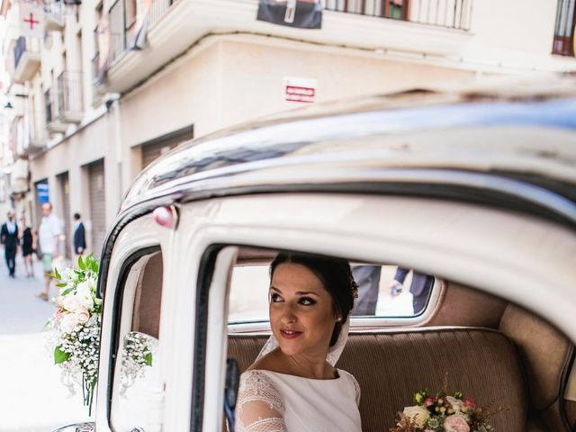 La boda de Javier y Anna en Fontanars Dels Alforins, Valencia 1