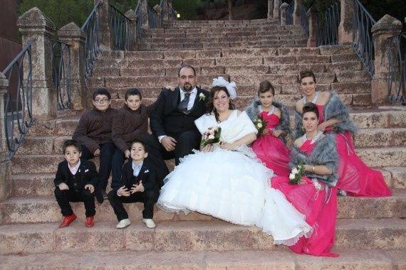 La boda de Noemí y Salva en Totana, Murcia 2