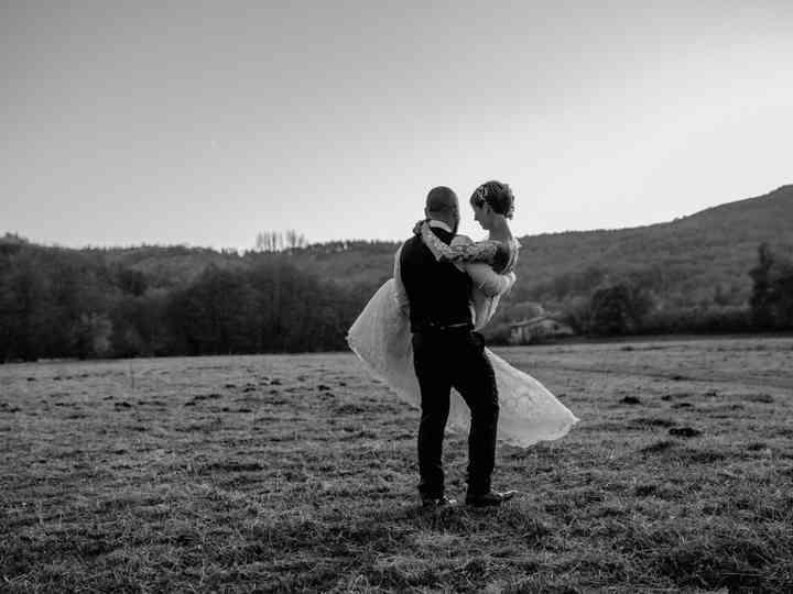 La boda de Ainara y David
