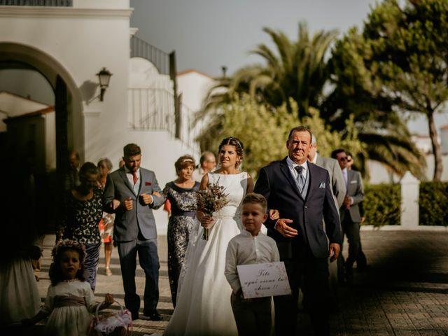 La boda de Francisco Javier y Azahara en Bienvenida, Badajoz 1