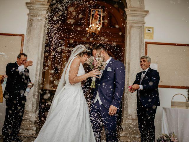 La boda de Francisco Javier y Azahara en Bienvenida, Badajoz 5