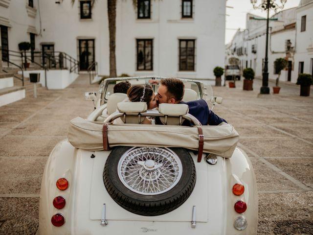 La boda de Francisco Javier y Azahara en Bienvenida, Badajoz 7