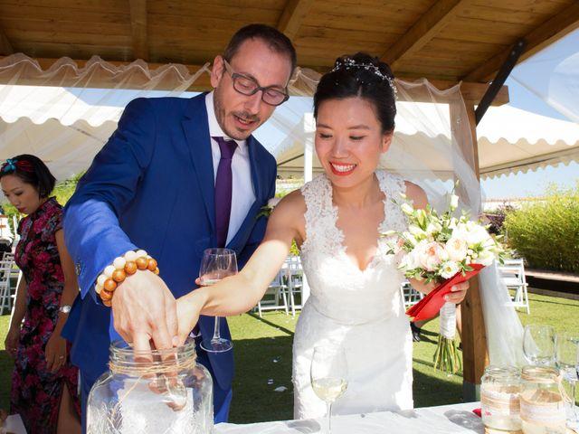 La boda de Miguel y Jenny en Galapagos, Guadalajara 18