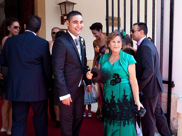 La boda de Luis Miguel y Mª Mar en Huercal De Almeria, Almería 11