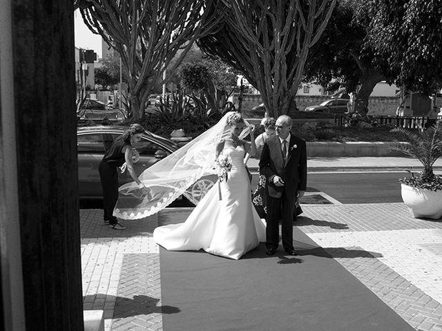La boda de Luis Miguel y Mª Mar en Huercal De Almeria, Almería 12