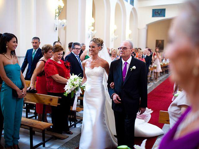 La boda de Luis Miguel y Mª Mar en Huercal De Almeria, Almería 13