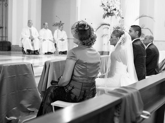 La boda de Luis Miguel y Mª Mar en Huercal De Almeria, Almería 14