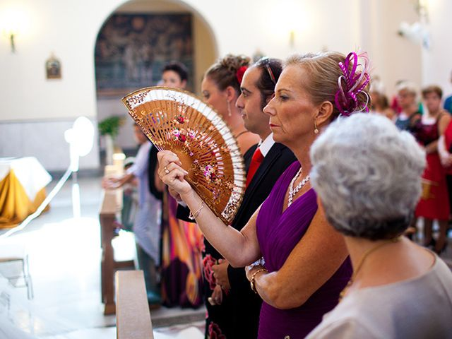 La boda de Luis Miguel y Mª Mar en Huercal De Almeria, Almería 15