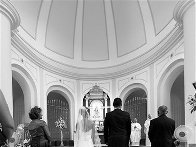 La boda de Luis Miguel y Mª Mar en Huercal De Almeria, Almería 16