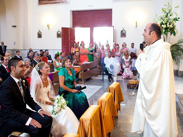 La boda de Luis Miguel y Mª Mar en Huercal De Almeria, Almería 17
