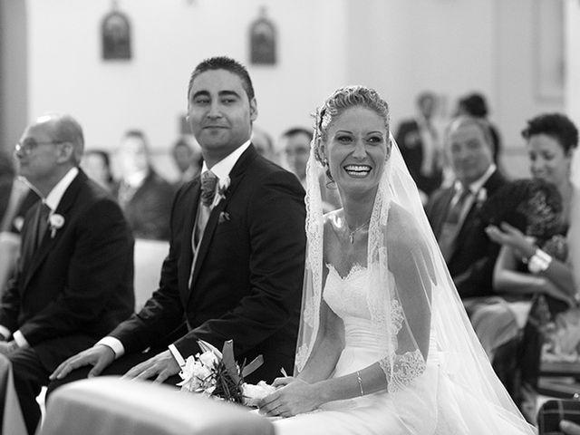 La boda de Luis Miguel y Mª Mar en Huercal De Almeria, Almería 21