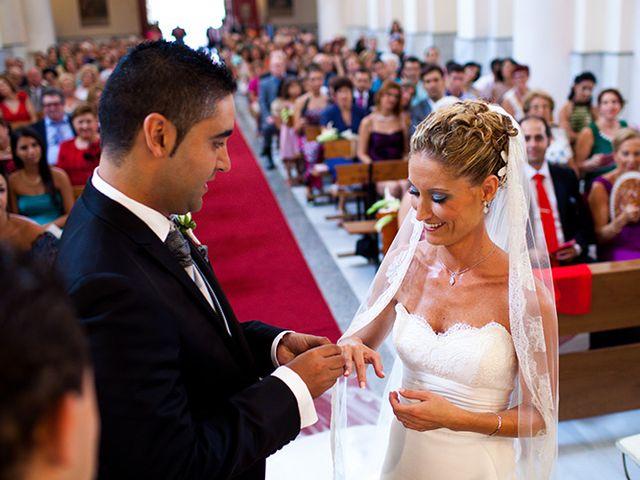 La boda de Luis Miguel y Mª Mar en Huercal De Almeria, Almería 23