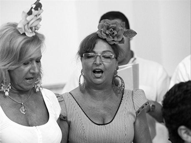 La boda de Luis Miguel y Mª Mar en Huercal De Almeria, Almería 25