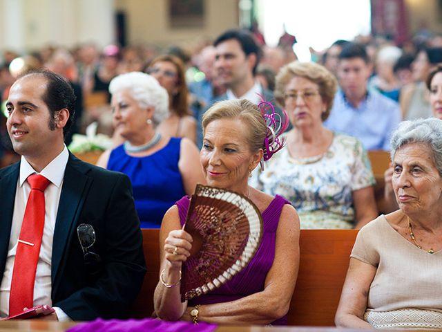 La boda de Luis Miguel y Mª Mar en Huercal De Almeria, Almería 26