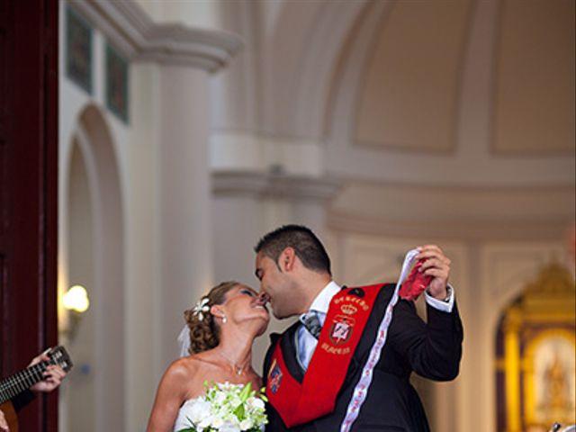 La boda de Luis Miguel y Mª Mar en Huercal De Almeria, Almería 33