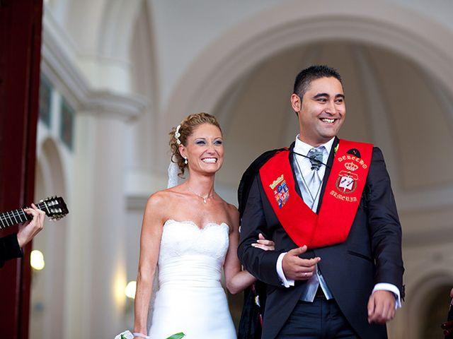 La boda de Luis Miguel y Mª Mar en Huercal De Almeria, Almería 34