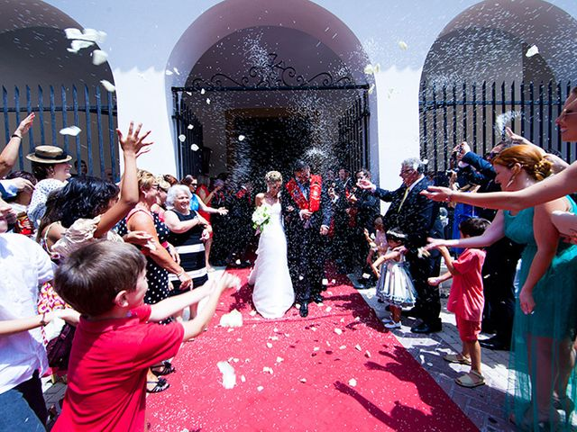 La boda de Luis Miguel y Mª Mar en Huercal De Almeria, Almería 35