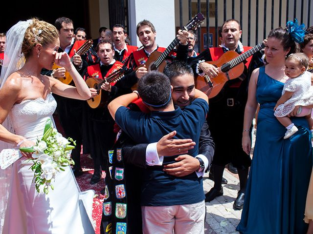 La boda de Luis Miguel y Mª Mar en Huercal De Almeria, Almería 36