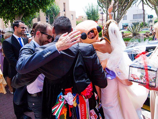 La boda de Luis Miguel y Mª Mar en Huercal De Almeria, Almería 38