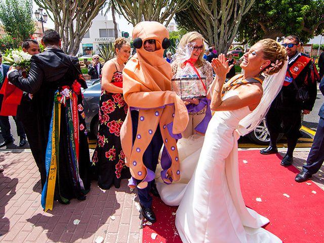 La boda de Luis Miguel y Mª Mar en Huercal De Almeria, Almería 39