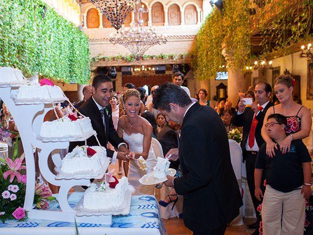 La boda de Luis Miguel y Mª Mar en Huercal De Almeria, Almería 60