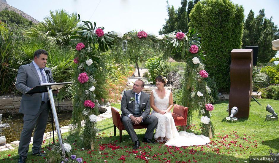 La boda de Vicente y Paqui en Santomera, Murcia