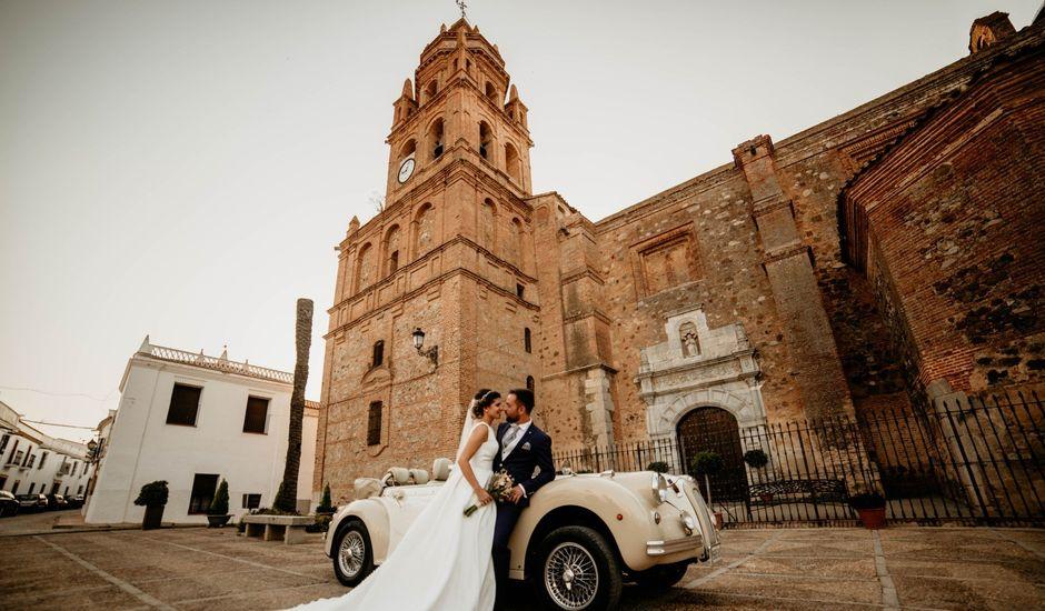 La boda de Francisco Javier y Azahara en Bienvenida, Badajoz