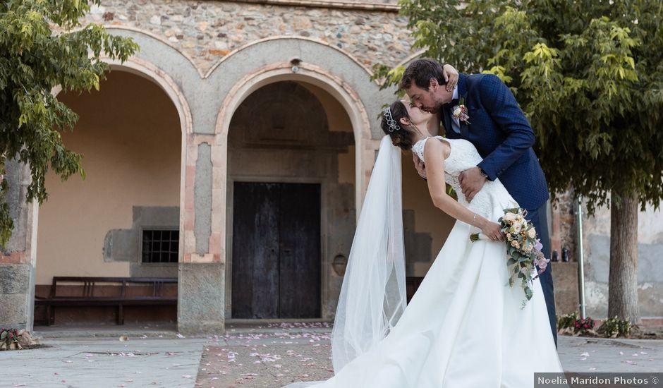 La boda de Anabel y Álex en Sant Gregori (Municipio), Girona