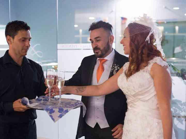 La boda de Magally y Aday