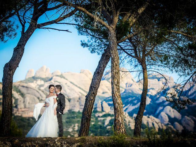 La boda de Andre y Anna en El Bruc, Barcelona 2