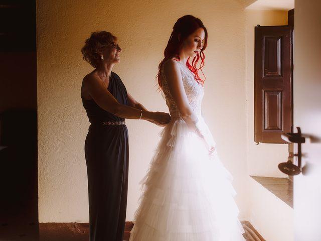 La boda de Samu y Anna en Sant Marti De Centelles, Barcelona 12