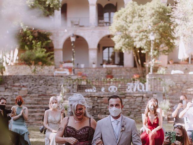 La boda de Samu y Anna en Sant Marti De Centelles, Barcelona 17