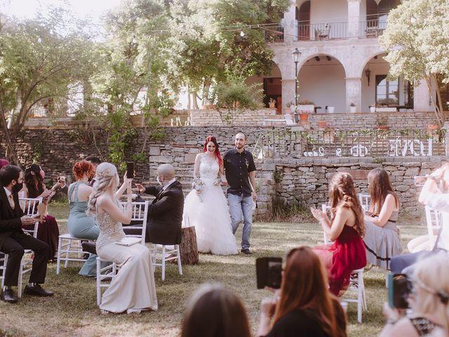 La boda de Samu y Anna en Sant Marti De Centelles, Barcelona 19