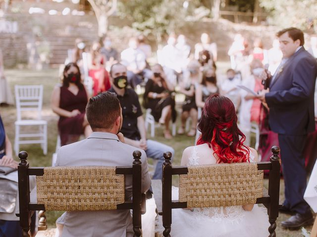 La boda de Samu y Anna en Sant Marti De Centelles, Barcelona 20