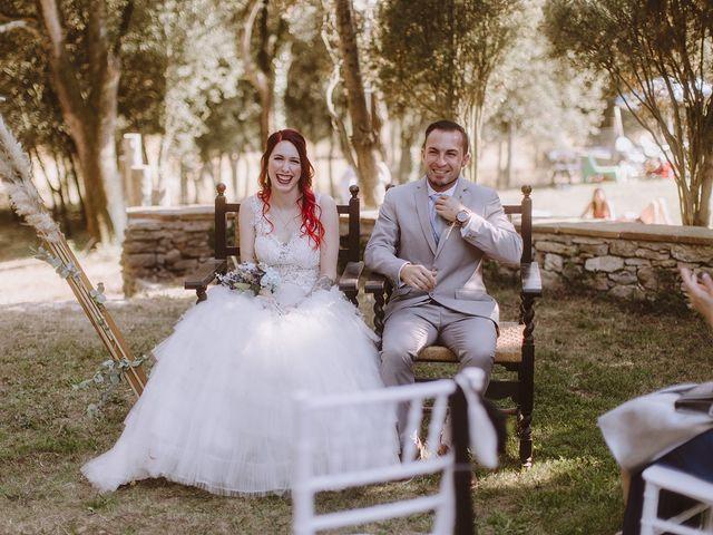 La boda de Samu y Anna en Sant Marti De Centelles, Barcelona 21