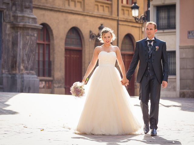 La boda de Iván y Sandra en Zaragoza, Zaragoza 41