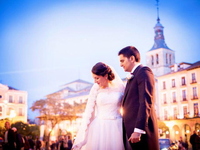 La boda de Eduardo y Claire en Segovia, Segovia 56