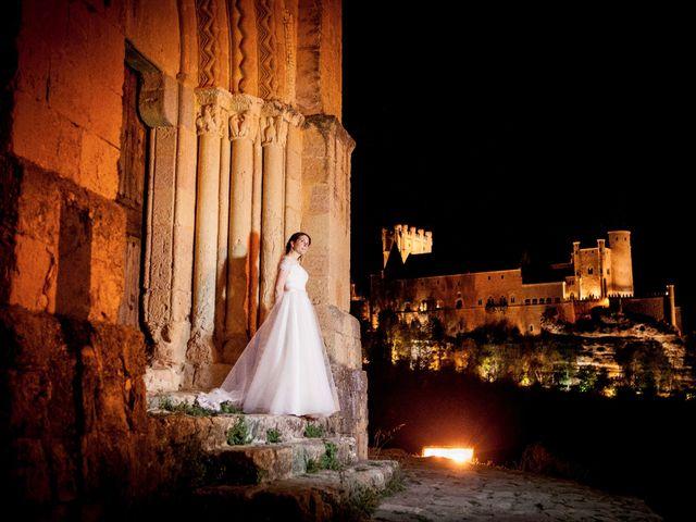 La boda de Eduardo y Claire en Segovia, Segovia 71