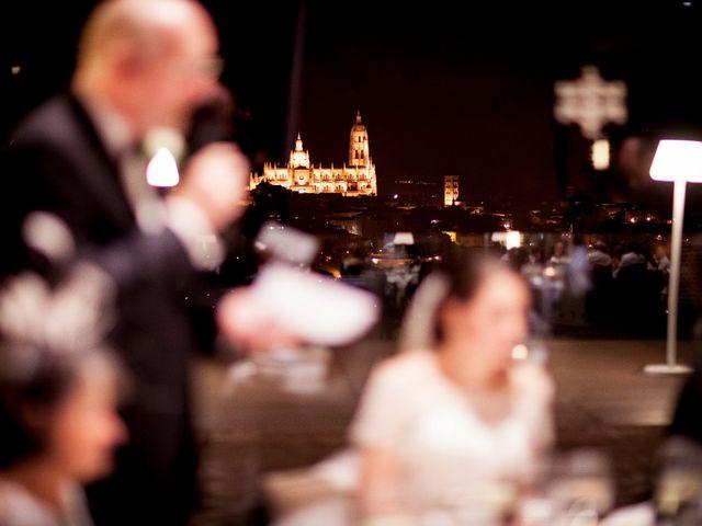 La boda de Eduardo y Claire en Segovia, Segovia 81