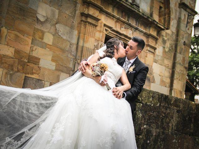 La boda de Héctor y Jeni en La Felguera (Langreo), Asturias 40